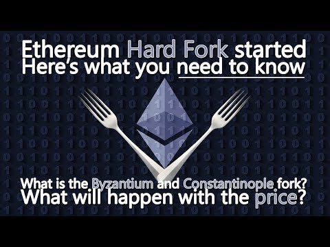"Ethereum ""Metropolis"" hard fork started - What you need to know!"