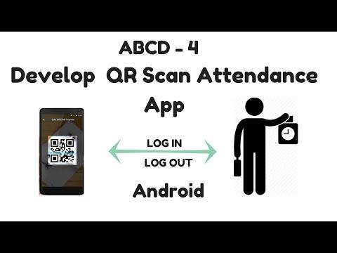 Create QR Scan Attendance APP Using APP Inventor | Google AppScript | Google Sheets