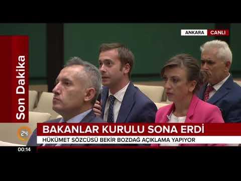 Bekir Bozdağ, Bakanlar Kurulu sonrası açıklama yaptı