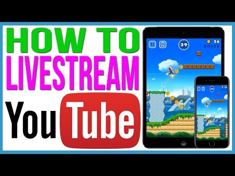 Livestream IPhone Screen To Youtube For Free. No Jailbreak.