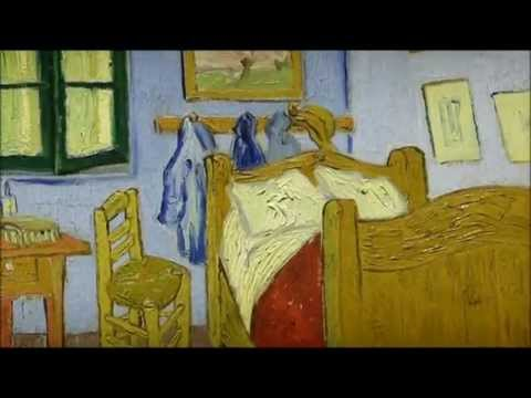 la chambre de van gogh arles van gogh d 39 art d 39 art youtube. Black Bedroom Furniture Sets. Home Design Ideas