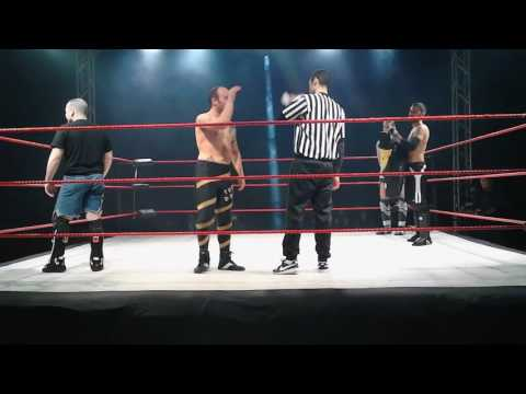 IWA La Battaglia d'Inverno: Jimmy Barbaro & Francesco Messina vs  Max Peach e Adam Shepard