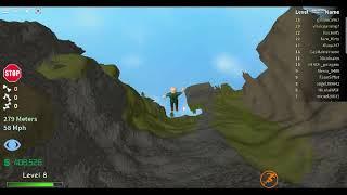 En saute d une falaise et en se pete les os [Roblox,Broken bones IV]