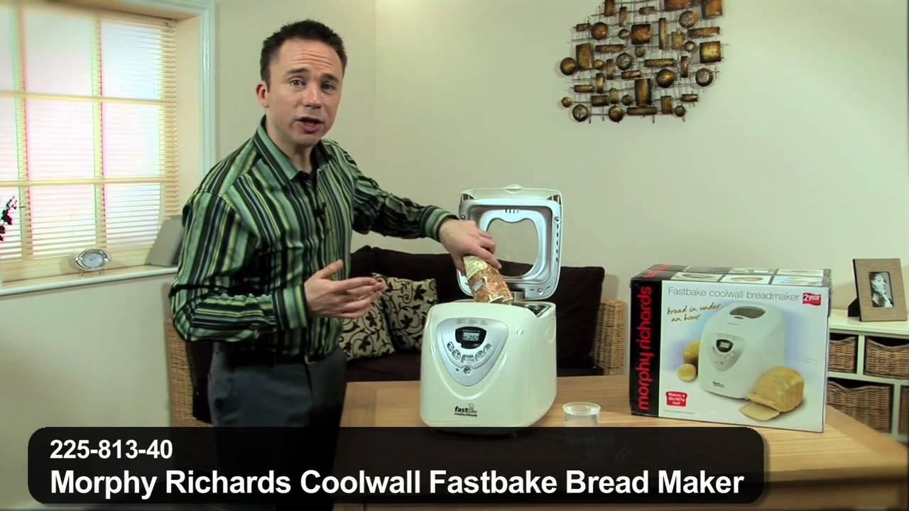 Morphy Richards Coolwall Fastbake Bread Maker By 24studio Youtube Find great deals on ebay for morphy richards bread maker. morphy richards coolwall fastbake bread maker by 24studio