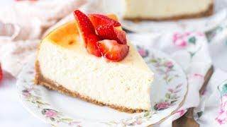 The BEST Cheesecake Recipe  New York Style Cheesecake