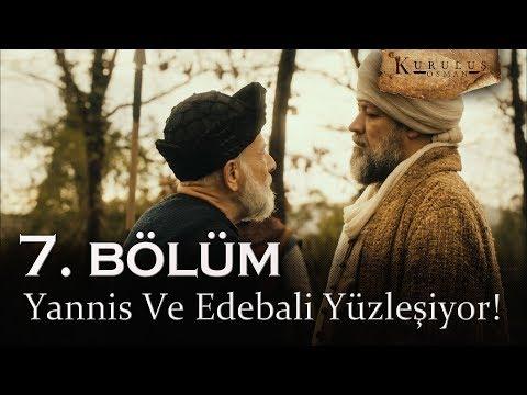 Yannis Ve Edebali Yüzleşiyor - Kuruluş Osman 7. Bölüm