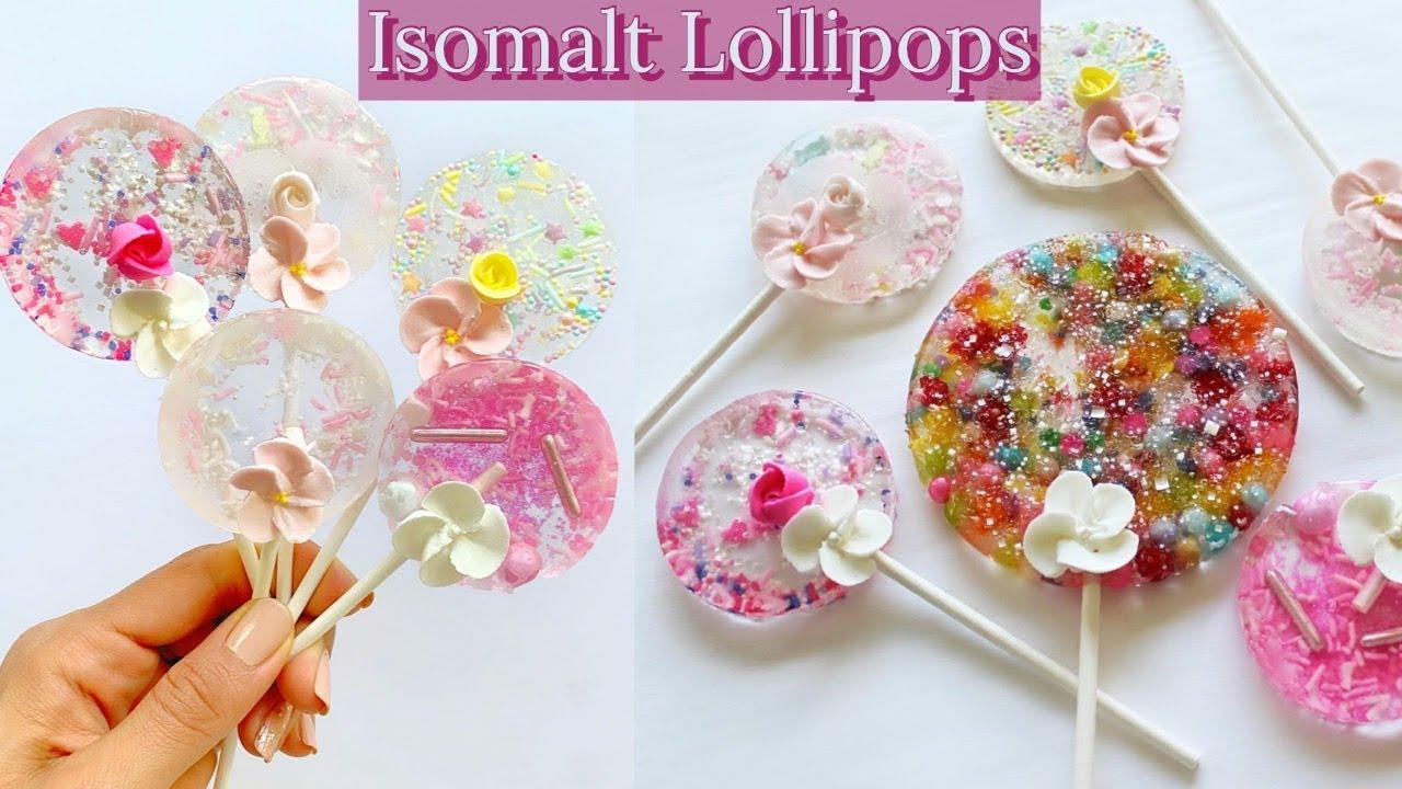 How To Make Isomalt Lillipops