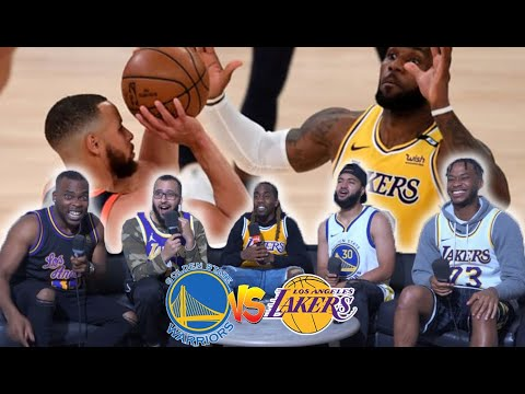 Golden State WARRIORS VS Los Angeles LAKERS! Full Highlights