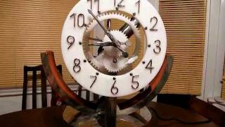 Water Powered Pendulum Clock