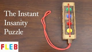 The Instant Insanity Puzzle
