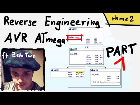 Identifying UART and main() in an AVR firmware (ft. Zeta Two) part 1 - rhme2