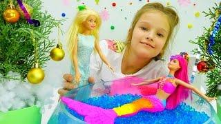 Детские игрушки и игры для девочек: вечеринка у Барби. Видео распаковка про кукол #Барби на #ютуб