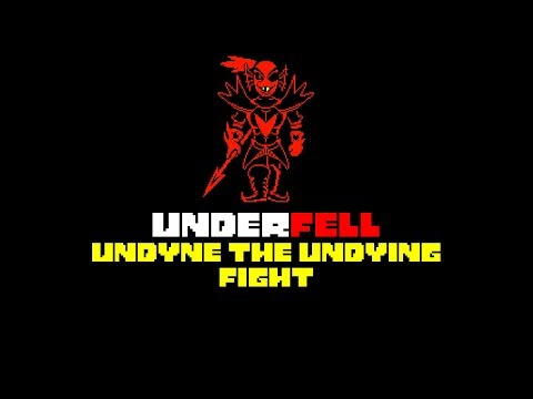 [Underfell] Undyne the Undying fight