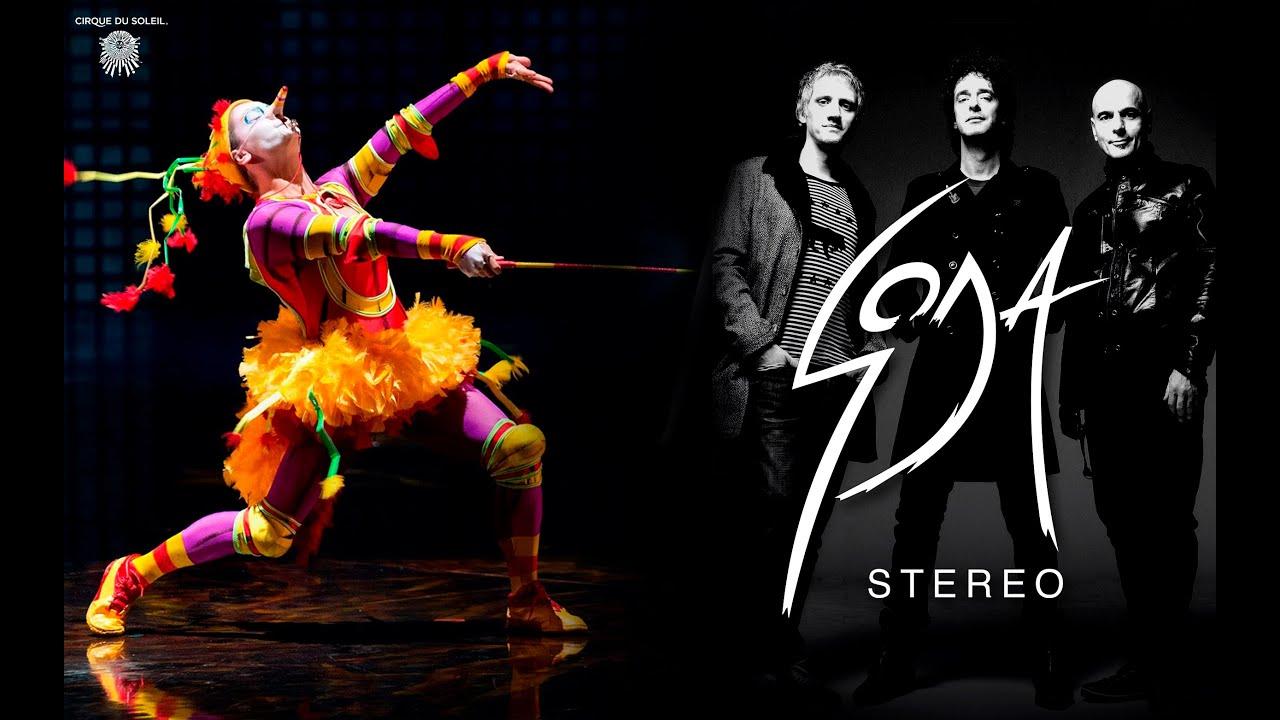 Cirque soleil soda stereo youtube for Espectaculo circo de soleil
