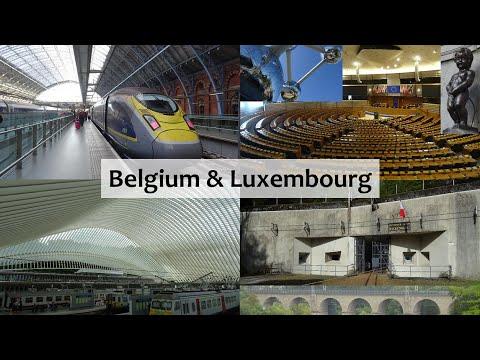Belgium & Luxembourg! (InterRail Part 1)