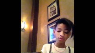 All Along Cover Willow Smith :)