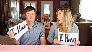 NEVER HAVE I EVER CHALLENGE - He pierced his what? - Top Husband Vs Wife Challenges