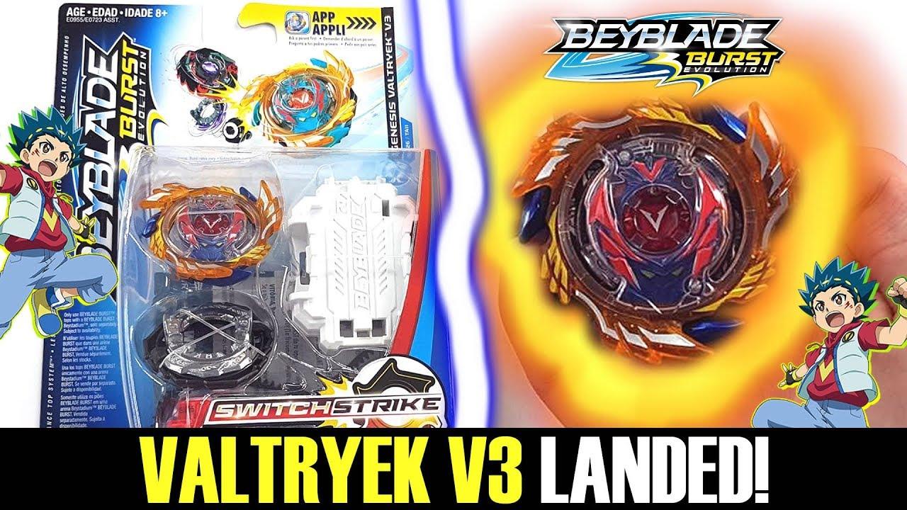 God Valtryek V3 Landed Beyblade Burst Evolution Switchstrike