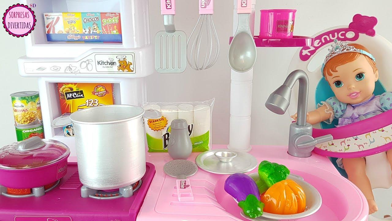 Beb ariel come pur de mi cocina de juguete juegos de - Juguetes cocina para ninos ...