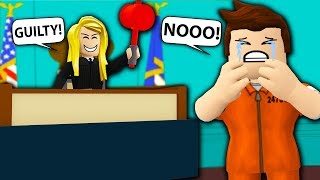 WE FRAMED HIM AND CALLED HIM GUILTY! Roblox Ace Attorney Trolling