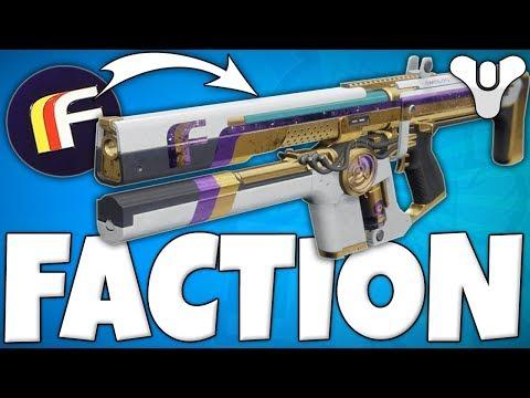 Destiny 2 - HOW TO GET FACTION GEAR EASY !! - (Future Warcult, Dead Orbit & New Monarchy)