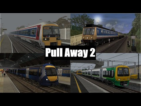 Train Sim 2021: Pull Away Compilation 2 |