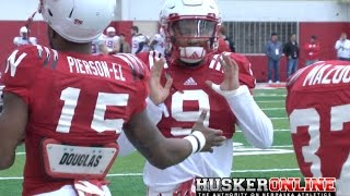 Nebraska Football Spring Practice #9 Sights & Sounds 3/31/17