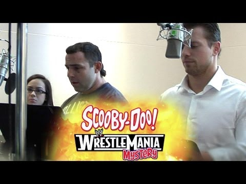 WWE Superstars record their lines for ScooDoo! WrestleMania Mystery