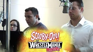 "WWE Superstars record their lines for ""Scooby-Doo! WrestleMania Mystery"""