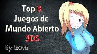 👾 Top 8 Mundos Abiertos 3ds