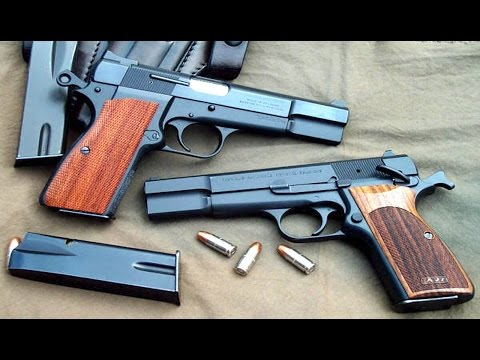 Brownings : Pistols Designed by John Browning - Voennoe Delo