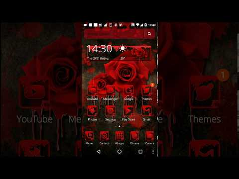 Blood Rose Theme For Pc - Download For Windows 7,10 and Mac
