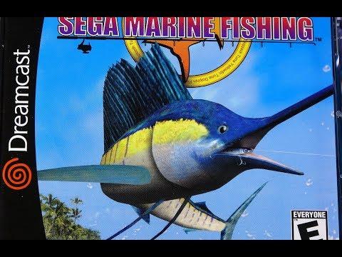 Classic Game Room - SEGA MARINE FISHING Review For Sega Dreamcast