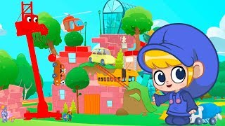 Mila and Morphle Build a CASTLE! | Kids Cartoons