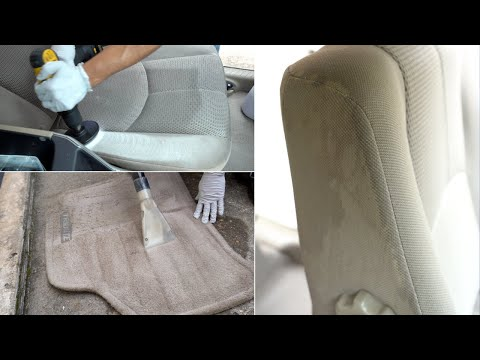 Disgusting 14 Year Old Car Interior Gets Thoroughly Cleaned and Detailed