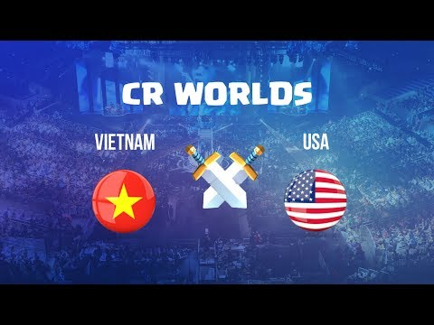 Vietnam vs USA | CR Worlds 2017