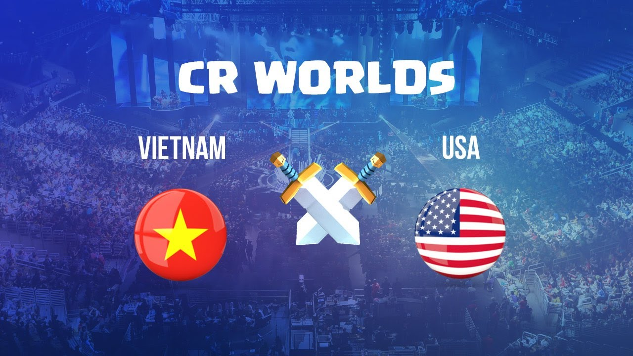 Vietnam Vs Usa Cr Worlds 2017