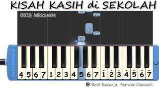 Download Kisah Kasih di sekolah not pianika