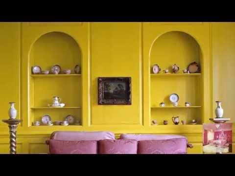 Ярко-желтый цвет в интерьере