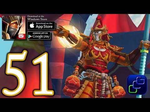 Dungeon Hunter 5 Android IOS Walkthrough - Part 51 - NEW Event: Lady Tzimeko Stronghold Raid