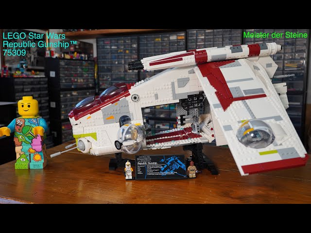 Republic Gunship™, LEGO 75309, Meister der Steine, Review