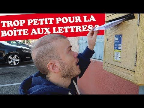 TROP PETIT POUR LA BOITE AUX LETTRES ?