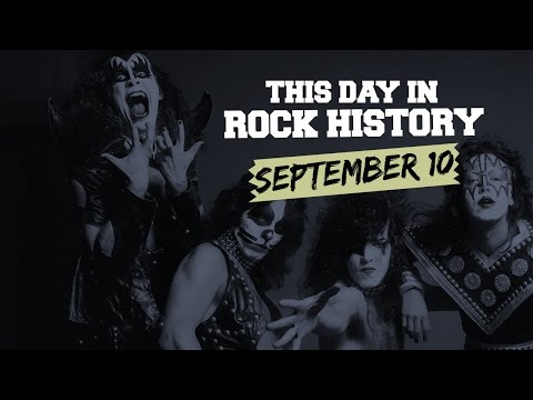 Kiss Comes 'Alive,' Iron Maiden Changes Frontmen - September 10 in Rock History