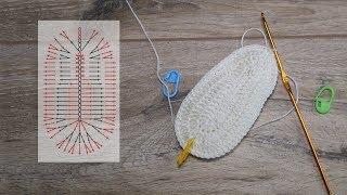 Подошва для пинеток крючком | Crochet shoe sole