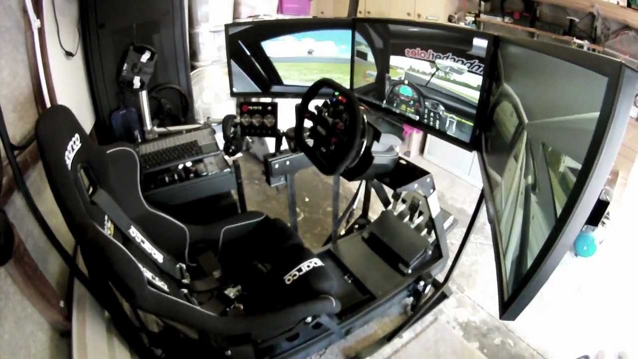 D box motion simulator rfactor youtube for 2 box auto profondo