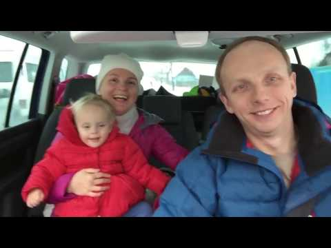 Беларусь. Красному диску солнца / Belarus: Traveling on the Car with the Child 1,5 years