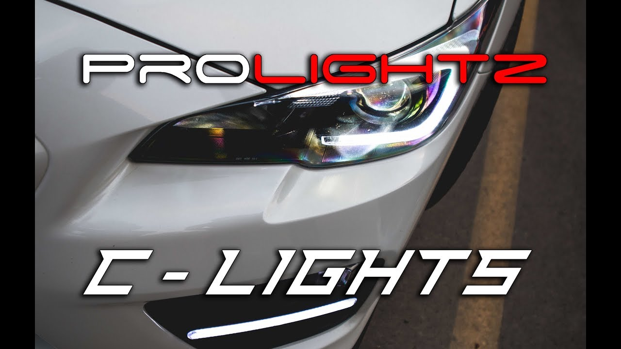 Diode Dynamics C Lights Installation Guide 2015 + WRX & STI - YouTube