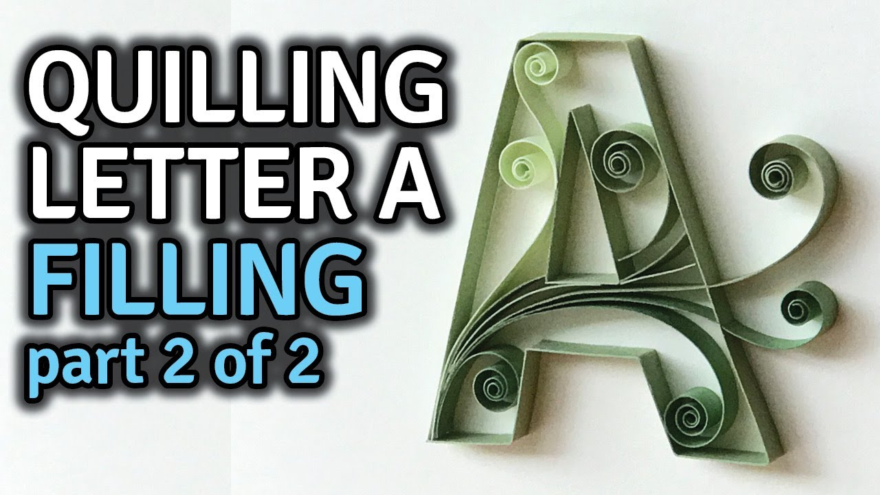 maxresdefault Quilling Letter B Template on