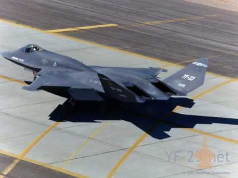 YF-23 Stealth Tribute