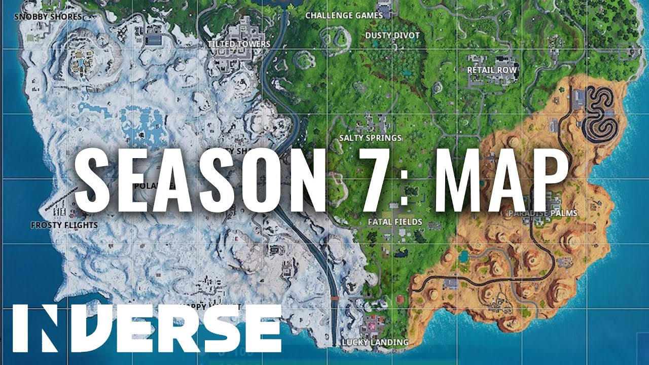 Season 7 Map Best New Fortnite Locations Inverse